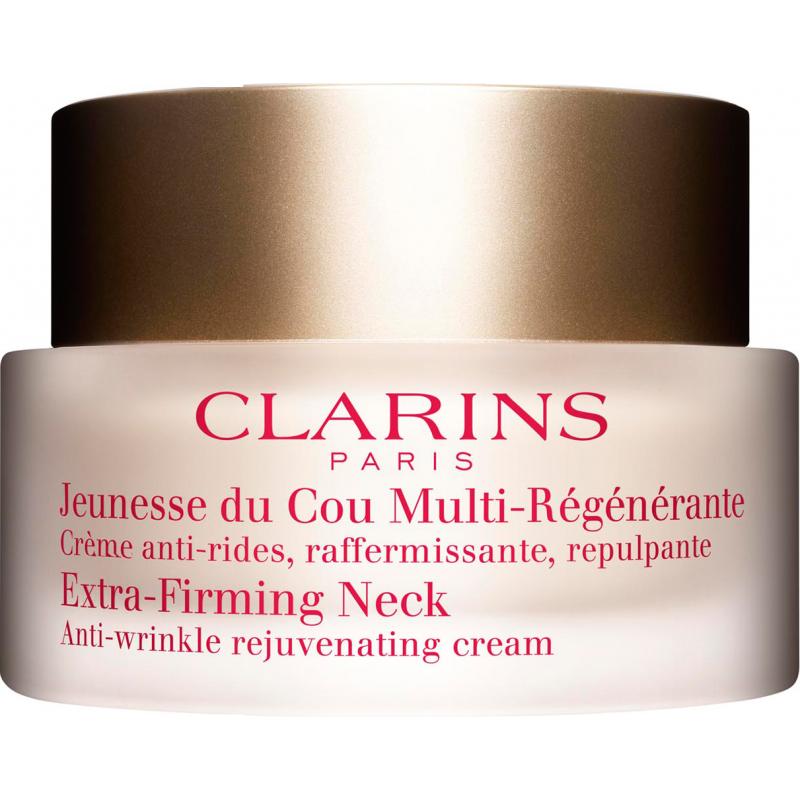 clarins extra firming neck anti wrinkle rejuvenating cream 50 ml. Black Bedroom Furniture Sets. Home Design Ideas