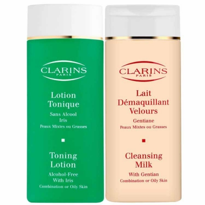 clarins cleansing care
