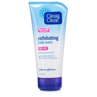 Clean & Clear Tägliche Reinigung & Peeling 150 ml