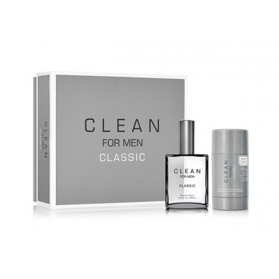 Image of   Clean Classic For Men EDT & Deostick 60 ml + 75 ml