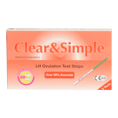 Clear & Simple  5 Ovulation Test Strips 5 pcs