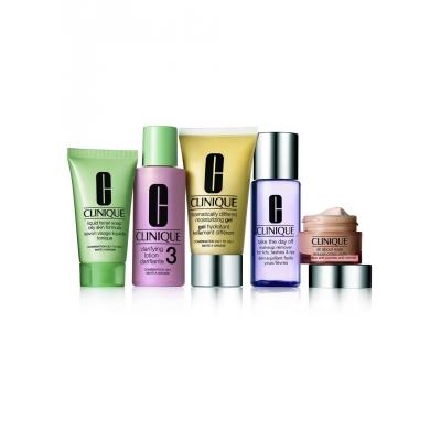 Clinique Daily Essentials Set Combination-Oily Skin 50 ml + 15 ml + 30 ml + 60 ml + 50 ml