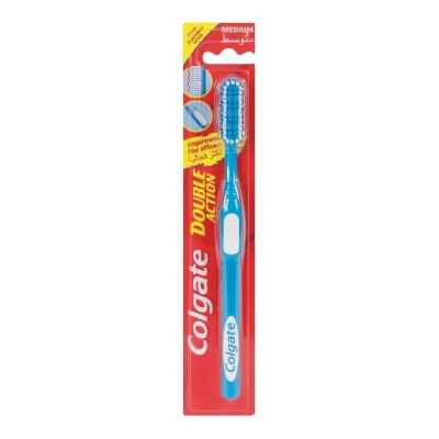 Colgate Double Action Toothbrush 1 pcs