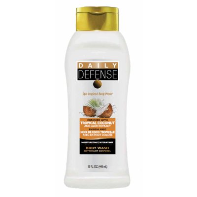 Daily Defense Coconut Body Wash 443 ml