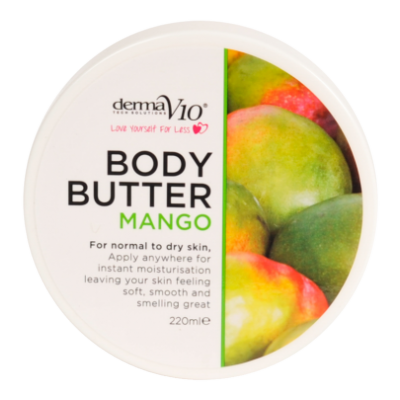 DermaV10 Mango Body Butter  220 ml