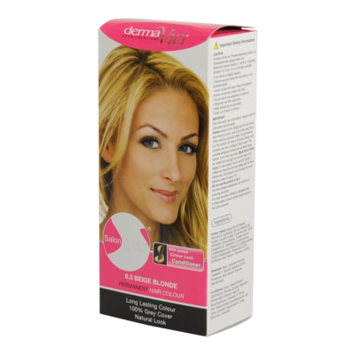 Image of   DermaV10 Salon Fashion Hair Colour Beige Blonde 1 stk