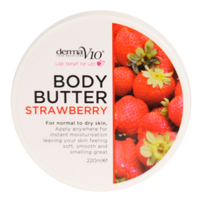 DermaV10 Strawberry Body Butter  220 ml