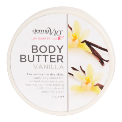 DermaV10 Vanilla Body Butter  220 ml