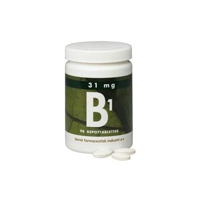 DFI Vitamin-B1 31 mg 90 stk