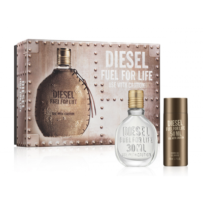 Image of   Diesel Fuel For Life EDT & Showergel 30 ml + 50 ml