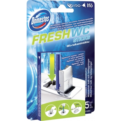 Domestos WC-Sticks 5 stk