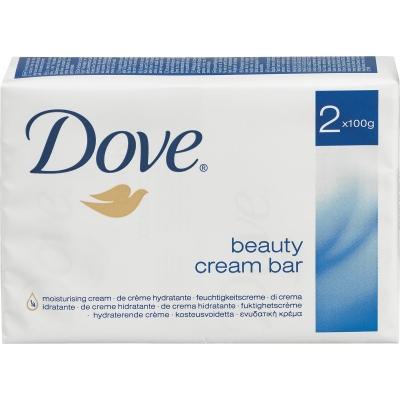 Image of   Dove Beauty Cream Sæbebar 2 x 100 g