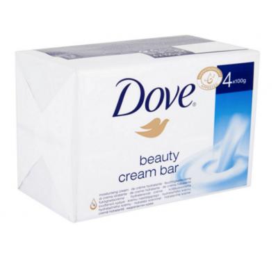 Image of   Dove Beauty Cream Sæbebar 4 x 100 g