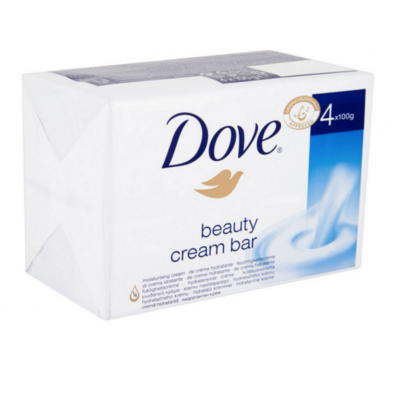 Dove Beauty Cream Soap Bar 4 x 100 g