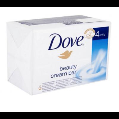 Dove Beauty Cream Sæbebar 4 x 100 g