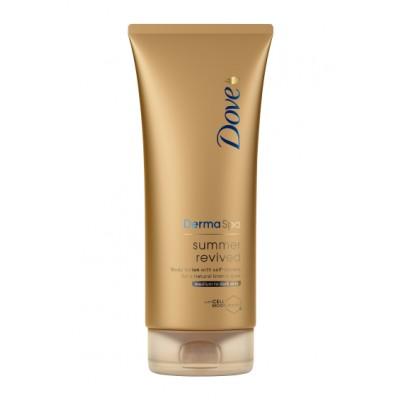 Dove DermaSpa Summer Revived Bodylotion Dark 200 ml