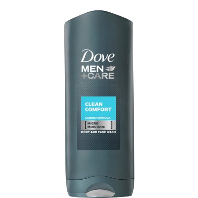 Image of   Dove Men +Care Clean Comfort Showergel 400 ml