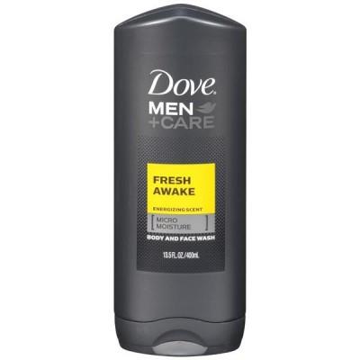 Image of   Dove Men +Care Fresh Awake Face & Body Wash 400 ml