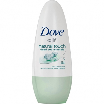 Image of   Dove Natural Roll On Deo 50 ml