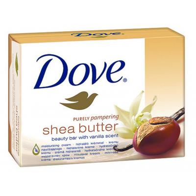 Image of   Dove Shea Butter Sæbebar 2 x 100 g