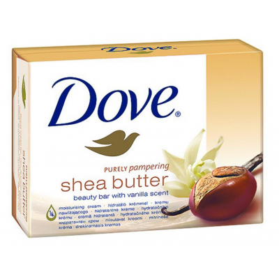 Dove Shea Butter Soap Bar 2 x 100 g