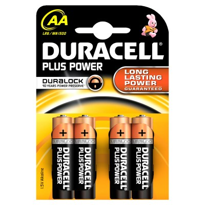 Duracell AA Duralock Plus Power 4 pcs