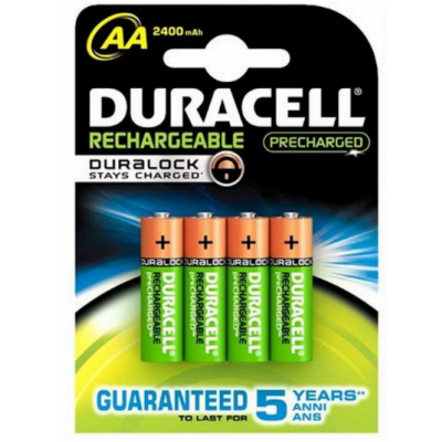 Duracell AA Recharge Ultra 4 st