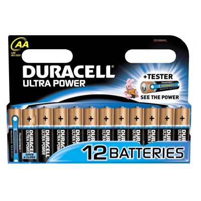 Duracell AA Ultra Power 12 pcs