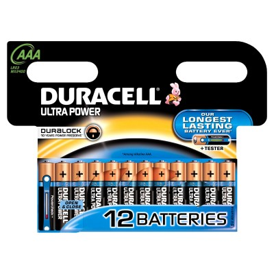 Duracell AAA Ultra Power 12 pcs