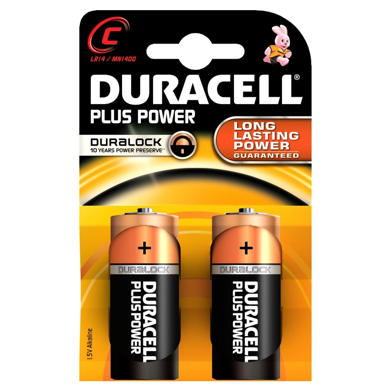 Duracell Plus MN1400 2 st Batterier