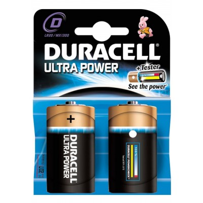Duracell Ultra Power MX1300 2 kpl