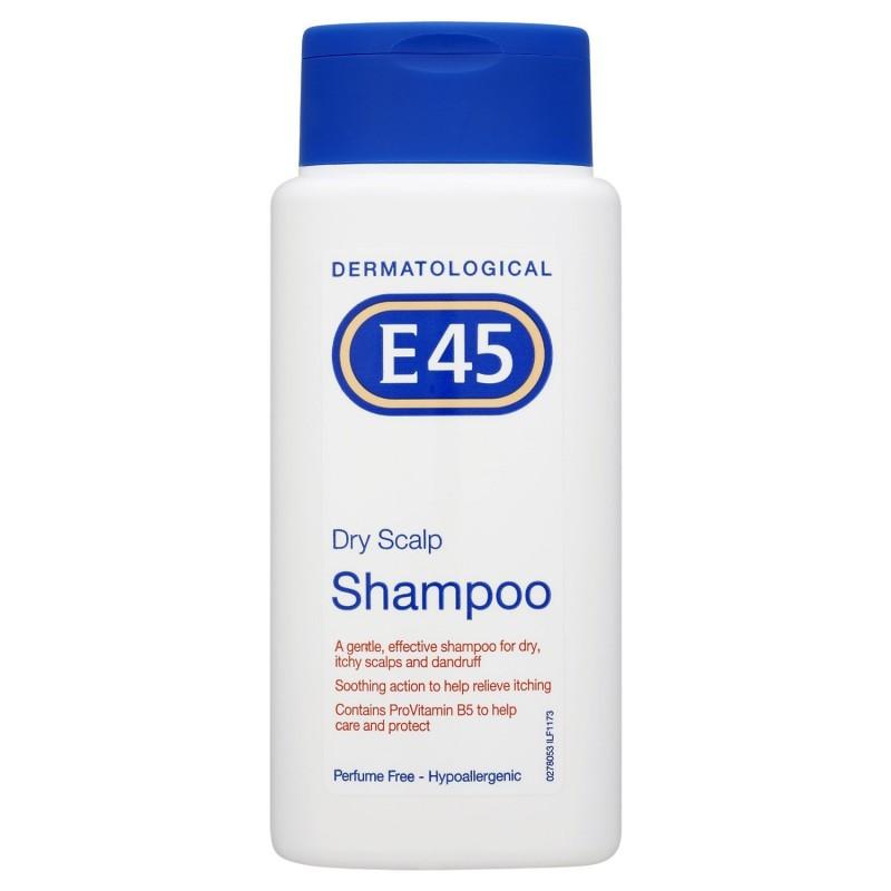 e45 dermatological trockene kopfhaut shampoo 200 ml euro. Black Bedroom Furniture Sets. Home Design Ideas