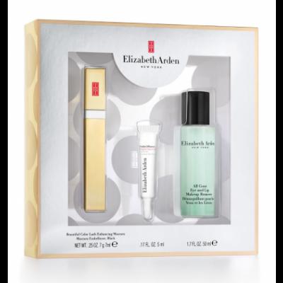 Elizabeth Arden Beautiful Color Mascara Set 7 ml + 5 ml + 50 ml
