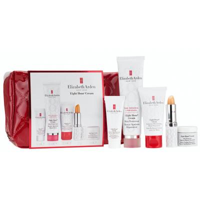 Image of   Elizabeth Arden Eight Hour Skin Care Set 15 ml + 50 ml + 30 ml + 3,7 g + 7 ml + 1 stk
