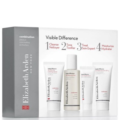 Image of   Elizabeth Arden Visible Difference Skin Balancing Starter Set 2 x 30 ml + 50 ml + 15 ml