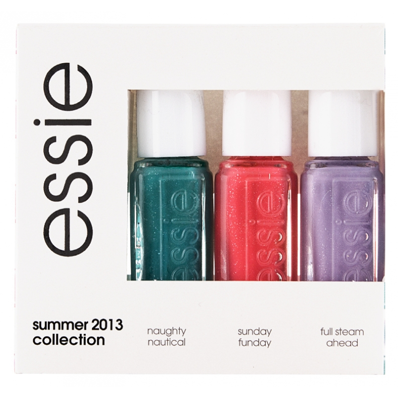 essie nail polish 3 piece set summer collection 3 x 5 ml kr. Black Bedroom Furniture Sets. Home Design Ideas