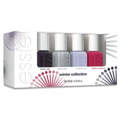 Image of   Essie Nail Polish 4 Piece Set Winter Collection 4 x 5 ml