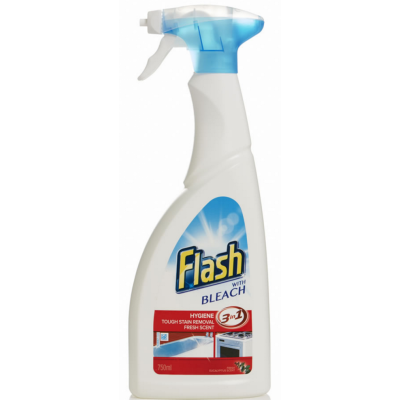 Flash Kitchen Spray With Bleach 450 ml