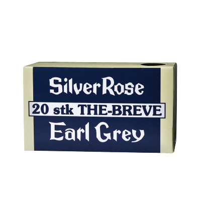 Fredsted Silver Rose Earl Grey 20 pussia