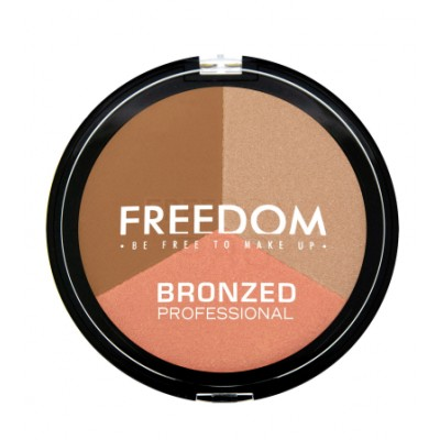 Image of   Freedom Makeup Bronzed Professional Pro Bronze Powder Shimmer Lights 15 g