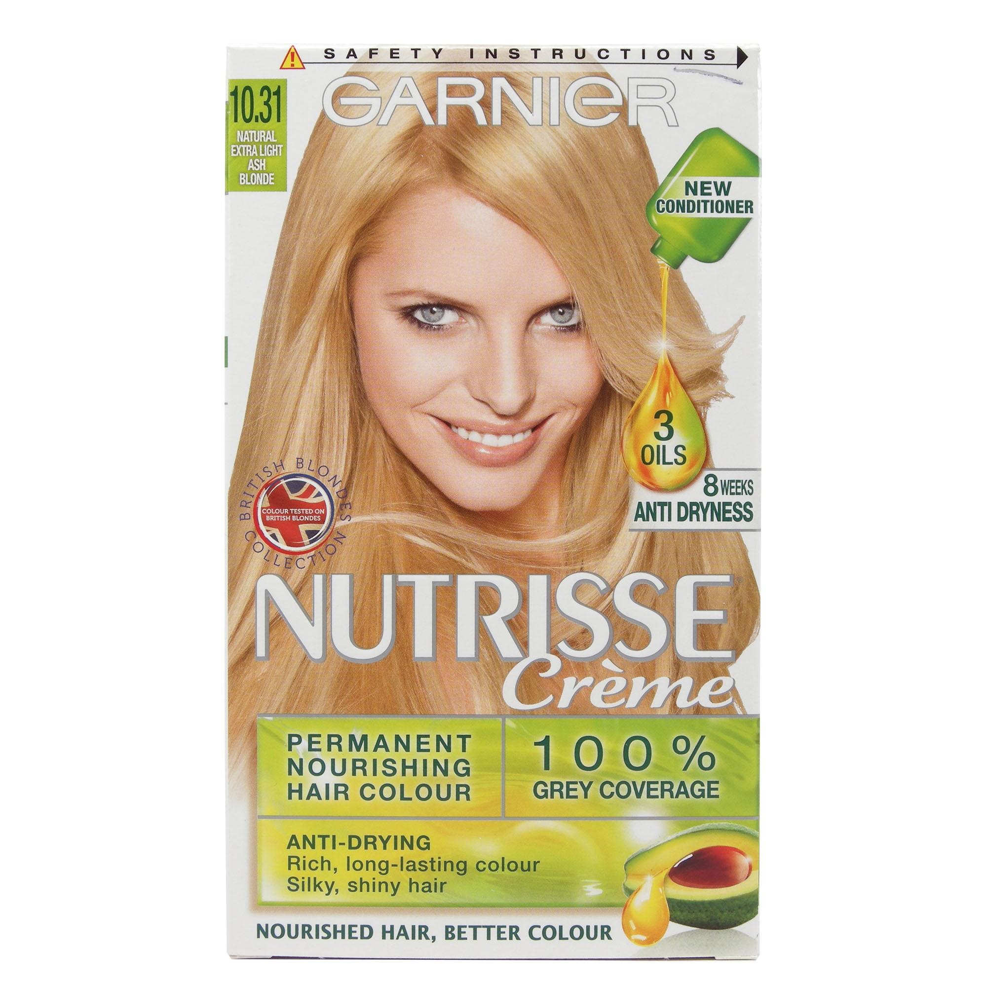 Garnier Nutrisse Natural Extra Light Ash Blonde 1 pcs 1