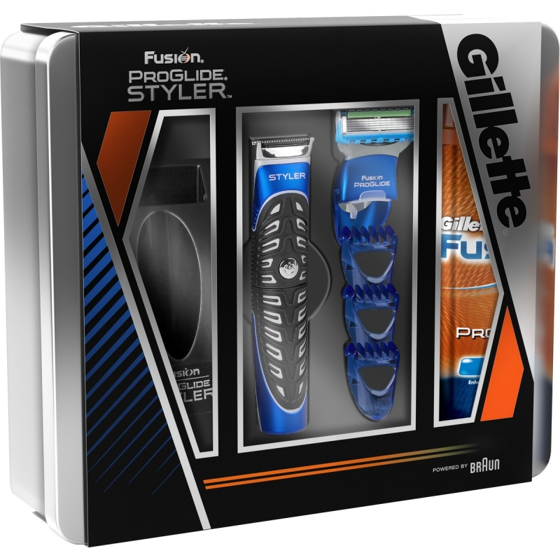 Gillette fusion proglide 3 in 1 styler hydrating shave for 1 2 3 fusion