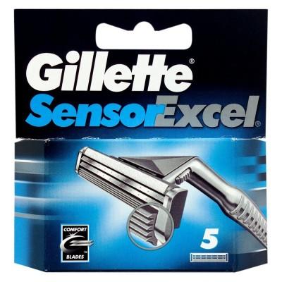 Image of   Gillette Sensor Excel Razors 5 stk