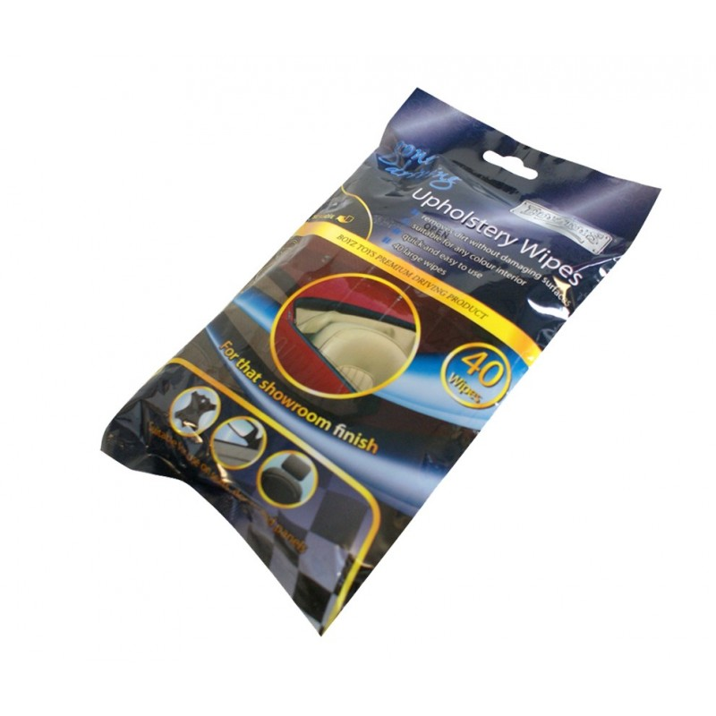 Gone Driving Upholstery Wipes 40 Pcs
