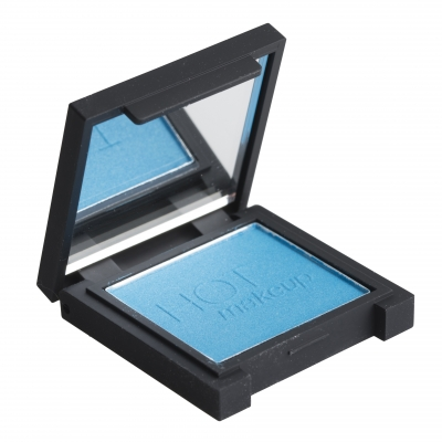 Image of   Hot Makeup Single Eye Shadow 35 Blue 1 st