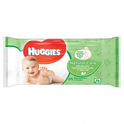 Huggies Baby Wipes Natural Care 56 st