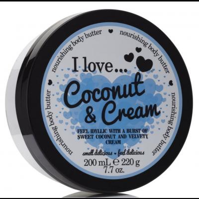 I Love Cosmetics Body Butter Coconut Cream 200 ml