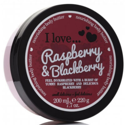 I Love Cosmetics Body Butter Raspberry & Blackberry 200 ml