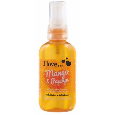 I Love Cosmetics Body Spritzer Mango & Papaya 100 ml