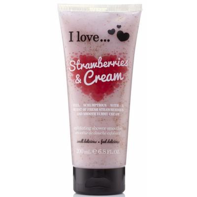 I Love Cosmetics Shower Smoothie Strawberries & Cream 200 ml